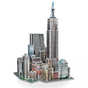 Midtown West 3D Jigsaw Puzzle Made by Wrebbit Puzzles 900 Pieces