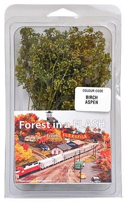 Forest in a Flash Tree Kit Birch Aspen Green ALB 9004