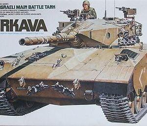 Tamiya Israeli Merkava MBT Kit CA227 Model Kit 35127