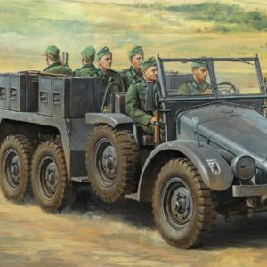 Tamiya German 6x4 Towing Truck Kfz.69 with 3.7cm Pak 1:48 Kit 32580