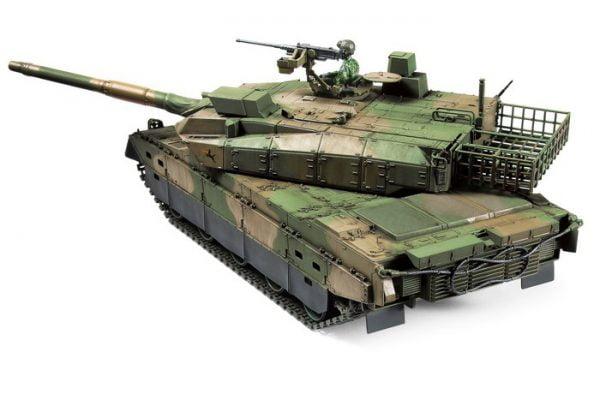 view Tamiya JGSDF Type 10 Tank 1:48 Kit 32588