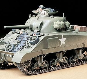 Tamiya U.S. Medium Tank M4 Sherman Early Production Kit 35190
