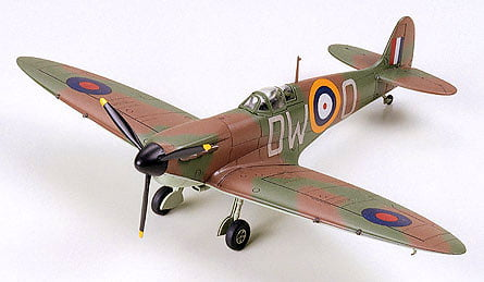 Tamiya Supermarine Spitfire Mk.1 1:72 Scale Model Kit 60748