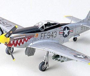 Tamiya N.A. F-51 Mustang Korean War 1:72 Scale Model Kit 60754