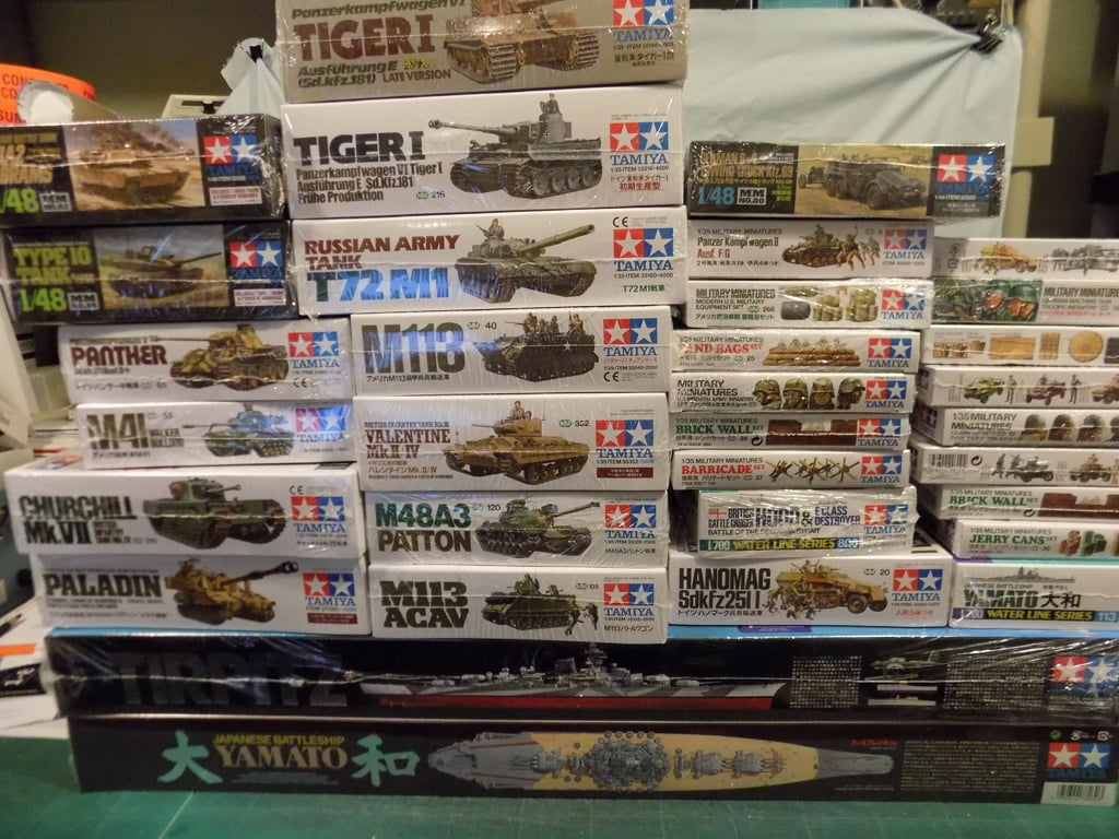 Tamiya New and Re-stock Model Kits Now Available