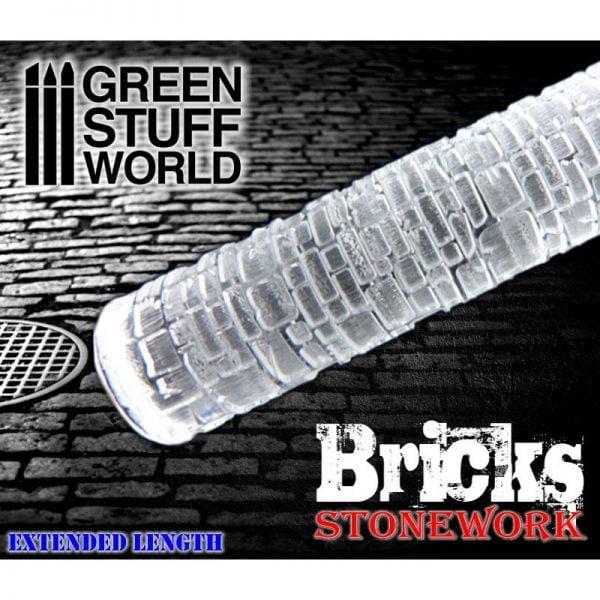 Rolling Pin Bricks Green Stuff World 1162