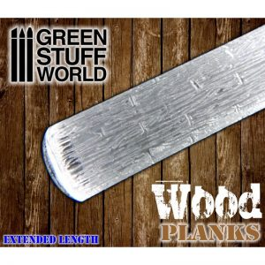 Rolling Pin Wood Planks Green Stuff World 1226