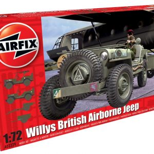 Airfix Willys British Airborne Jeep 1:72 A02339