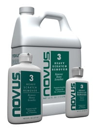 Novus Polish No. 3 Heavy Scratch Remover
