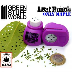 Miniature Leaf Punch MEDIUM PURPLE Green Stuff World 1416