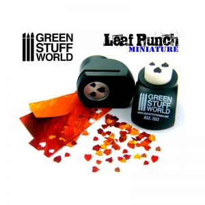 Miniature Leaf Punch DARK GREEN by Green Stuff World 1311