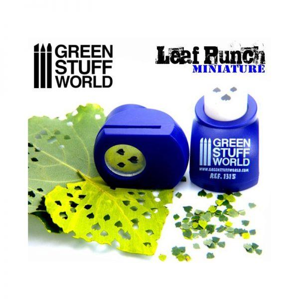 Miniature Leaf Punch DARK PURPLE Green Stuff World 1315