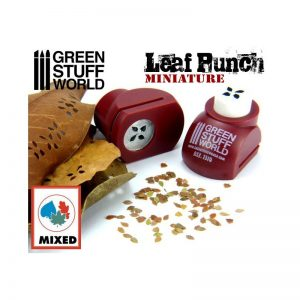 Miniature Leaf Punch RED Green Stuff World 1310