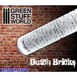 Rolling Pin DUTCH Bricks Green Stuff World 1336