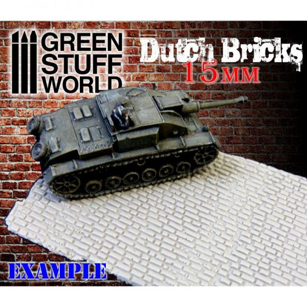 In Use Rolling Pin Cobblestone Green Stuff World 1626