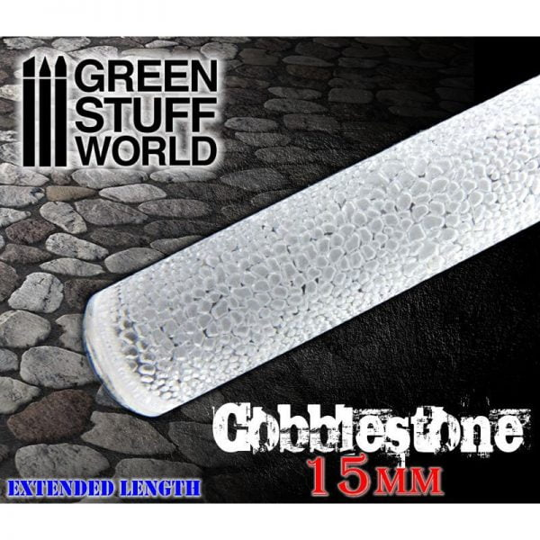 Rolling Pin Cobblestone 15mm Green Stuff World 1625