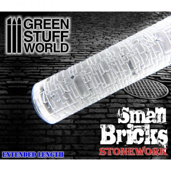 Rolling Pin Small Bricks Green Stuff World 1376