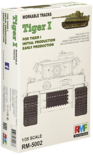 Rye Field Model 1:35 Workable Track for Tiger I early production 5002