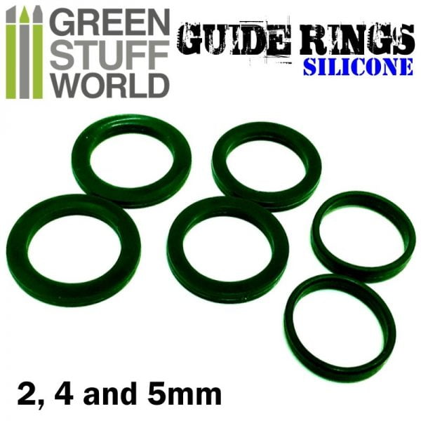 Silicone Guide Rings Green Stuff World 1444