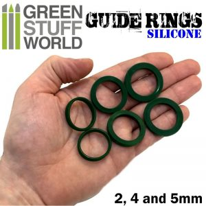 Sizes Silicone Guide Rings Green Stuff World 1444