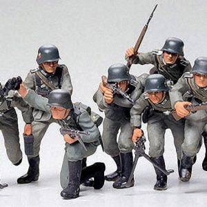 Tamiya German Assault Troops Kit CA130 1/35 Scale 35030