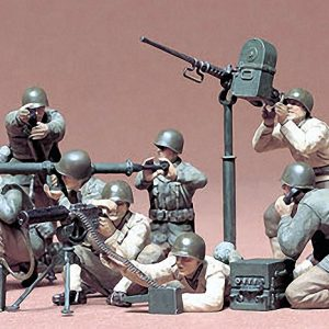 Tamiya U.S. Gun and Mortar Team Kit CA186 1/35 Scale 35086