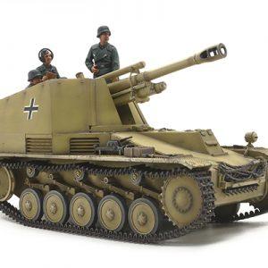 Tamiya 1/35 German Self-Propelled Howitzer Wespe Italian Front 35358