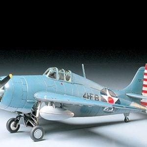 Tamiya 1/48 Grumman F4F-4 Wildcat 61034