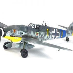 Tamiya Messerschmitt Bf 109 G-6 1:48 Scale Model Kit 61117