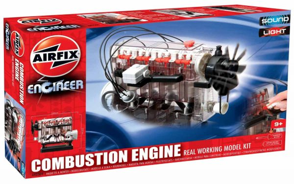Airfix Engineer Combustion Engine Working Model Kit A42509