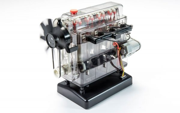 Spinning Airfix Engineer Combustion Engine Working Model Kit A42509