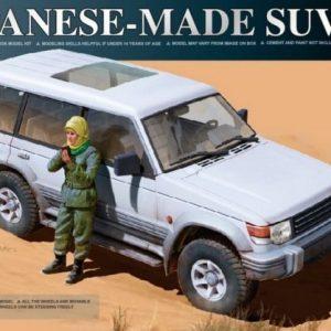 Takom Japanese Made SUV Mitsubishi Pajero 1:35 2007