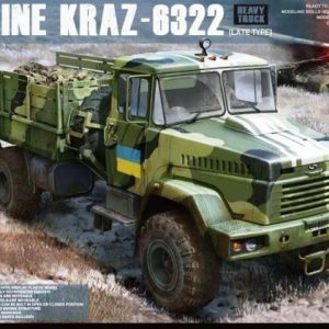 Takom Ukraine KrAZ-6322 Heavy Truck Late Type 1:35 2022