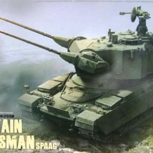 Takom British Air-Defense Weapon System Chieftain Marksman SPAAG 1:35 2039
