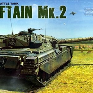 Takom 2040-Model Kit British Main Battle Tank Chieftain Mk. 2 1:35 2040