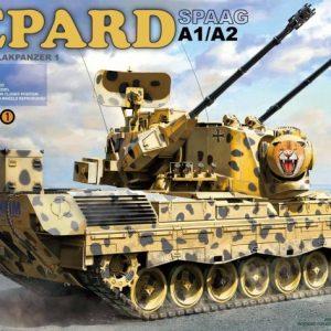 Takom Bundeswehr Flakpanzer Gepard SPAAG A1/A2 1:35 2044