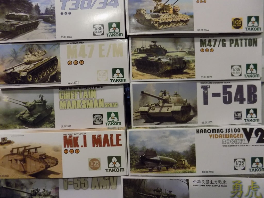 Takom Model Kits now at Sunward Hobbies • Online shopping in