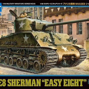 Tamiya US Medium Tank M4A3E8 Sherman Easy Eight 32595