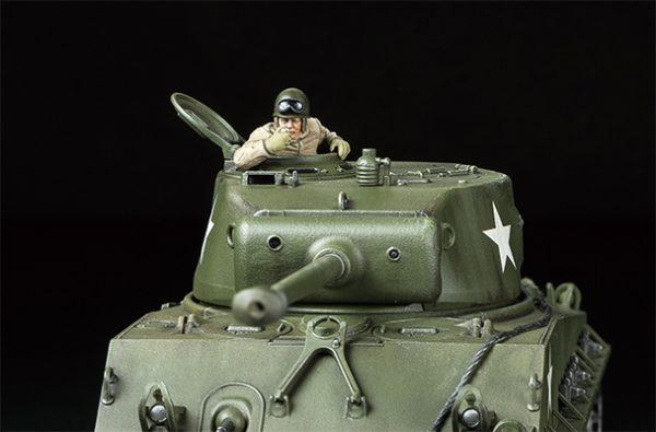 Tamiya US Medium Tank M4A3E8 Sherman Easy Eight 32595