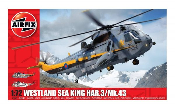 Airfix Westland Sea King HAR.3/Mk.43 1:72 A04063