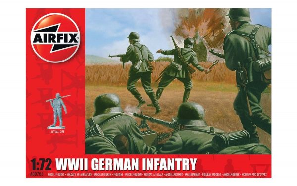 Airfix WWII German Infantry 1:72 A00705