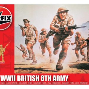 Airfix WWII British 8th Army 1:72 A00709
