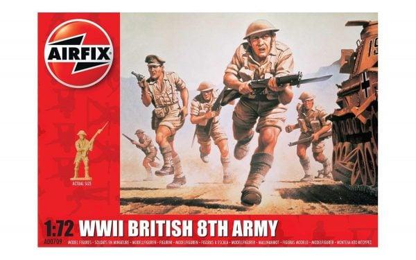 Airfix WWII British 8th Army 1:72 A00709