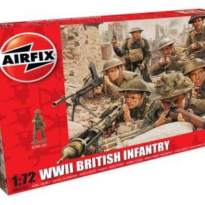 Airfix WWII British Infantry 1:72 A00763
