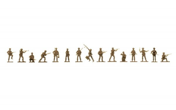 figures Airfix WWII British Infantry 1:72 A00763
