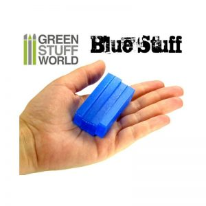 Green Stuff World Blue Stuff Mold 4 Bars 9015