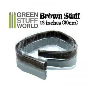 Green Stuff World Brown Stuff Epoxy Tape 12 inches 9226