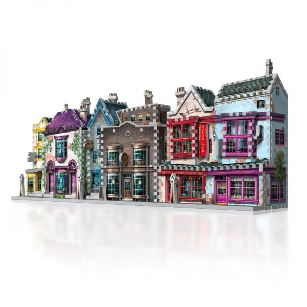 diagon alley collection fro9m Wrebbit 3D Puzzles.