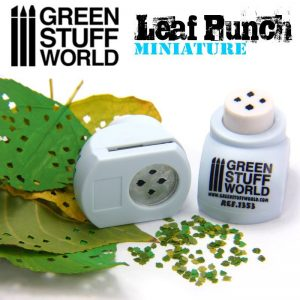 Miniature Leaf Punch LIGHT BLUE by Green Stuff World 1353