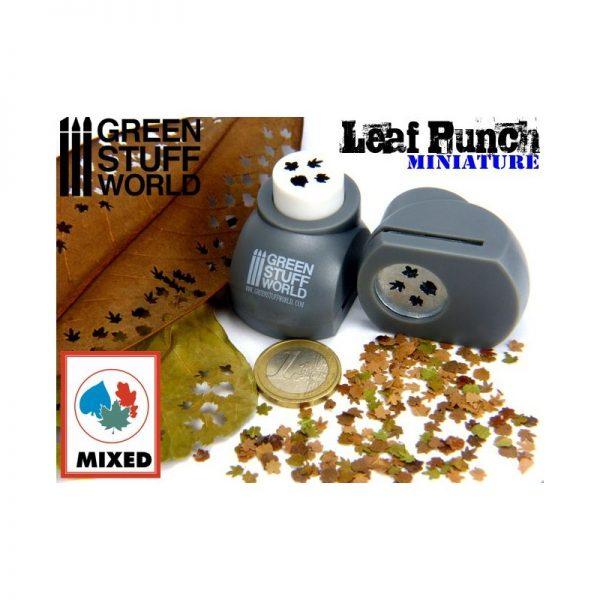 Miniature Leaf Punch Grey by Green Stuff World 1300
